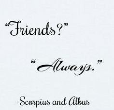 SCORPIUS AND ALBUS ARE MY BABIES OKAY I LOVE THEM WITH ALL MY HEART