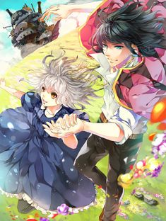 Howl's moving castle - Halcyon by aiki-ame.deviantart.com on @deviantART
