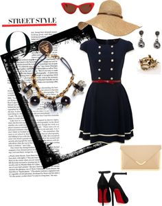 """""""Monday in Paris"""" by trendymondays ❤ liked on Polyvore"""