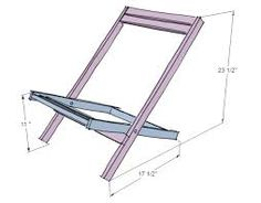 Image result for one plank folding chair