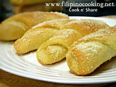 Spanish bread is a classic bread with a sweet and creamy filling. It is one of most popular and favorite breads of many Filipinos.