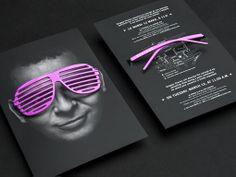 Pra começar a sexta-feira com estilo, um post com esta embalagem criativa para óculos!  Designed by Joanna Hobbs