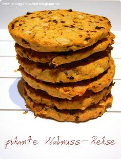 From-Snuggs-Kitchen - Essen aus Hessen und dem Rest der Welt: Pikante Walnuss-Kekse