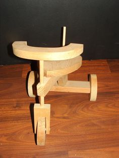 "Fits 18"" American Girl Doll / Bears Wooden Tricycle Vehicle Handcrafted #Handmade"