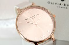 Olivia Burton Big Dial Rose Gold Watch I am in love..... One day x