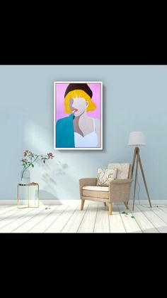Canvas Painting Designs, Abstract Canvas Art, Diy Canvas Art, Art Photography Portrait, Bright Art, Painting Of Girl, Easy Paintings, Art Plastique, Watercolor Art