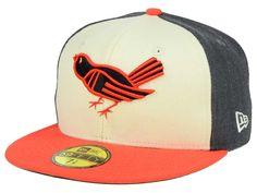 1f2652ea2fb Baltimore Orioles New Era MLB Classic Coop 59FIFTY Cap
