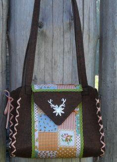 Trachtentaschen - Trachtentasche - ein Designerstück von Deko-Huette bei DaWanda
