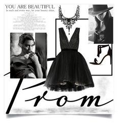 """dream dress"" by sofia050400 ❤ liked on Polyvore featuring Alice + Olivia, MARA, Cushnie Et Ochs and Alexandre Birman"