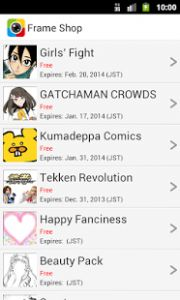 With over 4,800,000 downloads worldwide, Otaku Camera has reached 1st Place on camera app rankings of many nations!