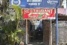 Miguel's for the best Chile Rellenos, now a location on Cerritos Beach!