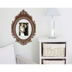 Style and Apply Victorian Frame Wall Decal (8in x 11in )