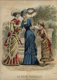 1881 ... LA MODE FRANCAISE