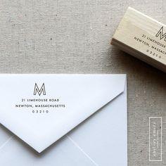 Address Stamp Self Inking Custom Return Address Stamp Address Mail  Custom Address Stamper Wedding Invitation