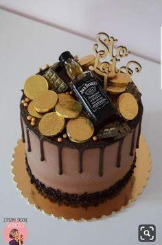 38 ideas birthday cupcakes for men cake recipes for 2019 Birthday Cakes For Men, Birthday Cupcakes, Birthday Recipes, Birthday Ideas, Food Cakes, Cupcake Cakes, Jack Daniels Cake, Alcohol Cake, New Cake