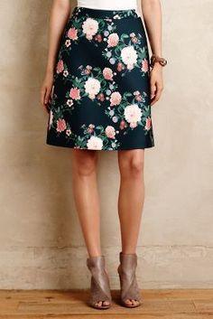Darling Anthro skirt!