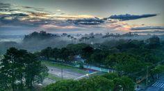 Manhã com névoa no bairro de Santana, zona norte de São José dos Campos.  Foto Luis Miguel Lima