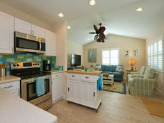 Anna Maria Vacation Rental - VRBO 501951 - 2 BR Anna Maria Island Cottage in FL, Seaglass Cottage, 3 Houses from Bean Point Beach, Heated Pool