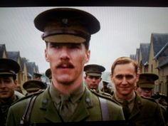 Sherlock has no right to judge John's mustache. And Tom you cutie pie! <3