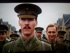 Sherlock has no right to judge John's mustache. And Tom you cutie pie! <3