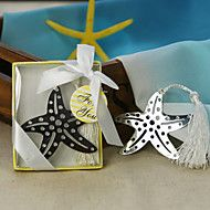 Starfish Stainless Steel Bookmark Favor With Tass... – USD $ 1.49