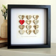 personalised you and me artwork by re:made   notonthehighstreet.com