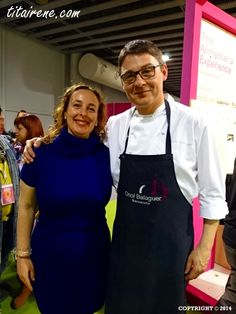 Pastry chef Oriol Balaguer & Irene, April 2014