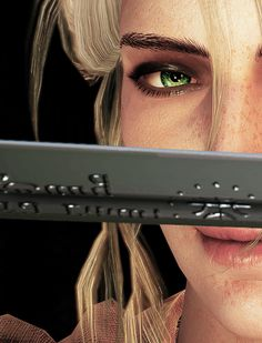 """loga-boga: """" """" You Witchers carry two swords: ordinary steel and blade of silver for monsters source """" """" The Witcher Game, The Witcher Books, Witcher 3 Wild Hunt, Ciri Witcher, Witcher Art, Mobius Final Fantasy, Witcher Wallpaper, The Last Wish, Vampire Masquerade"""