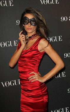 Fashion Is Bad-Ass.: French Vogue's Anniversary Masquerade Ball.