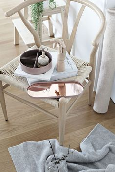 AYTM Margo Mirror Tray ROSE COPPER. Styling & picture by Blonde & Bone.