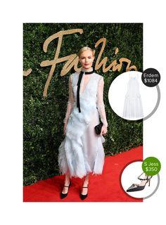 Kate Bosworth at the British Fashion Awards - seen in Erdem. #erdem  #katebosworth @dejamoda