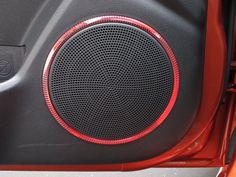 2010 Kia Forte Koup speaker lights: the lights change a rainbow hue to the tone of the music #gottaloveit