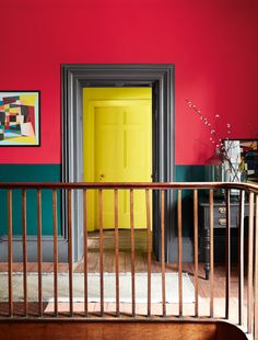 Colour queen Sophie Robinson and Kate Watson-Smyth discuss biophilia, colour blocking and influnces from childhood homes on the great indoors Hallway Colour Schemes, Hallway Paint Colors, Paint Color Schemes, Best Paint Colors, Paint Colors For Home, Paint Colours, Peinture Little Greene, Little Greene Paint, Interior House Paint Colors