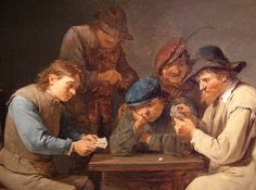 David Teniers the Younger: The Card Players (1646)