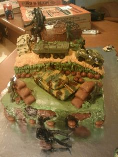 Army /G.I. Joe Cake By CakeQueen5 on CakeCentral.com