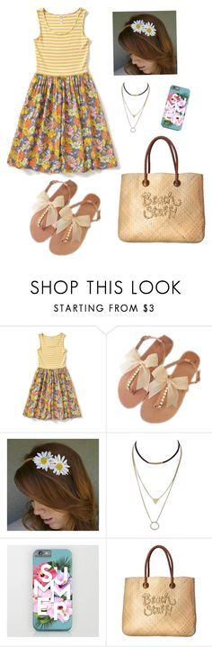"""Summer outfit..."" by creative-weird-and-strong-potato ❤ liked on Polyvore featuring White Stuff"
