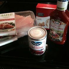 Crockpot Cranberry Chicken Recipe - SUPER EASY