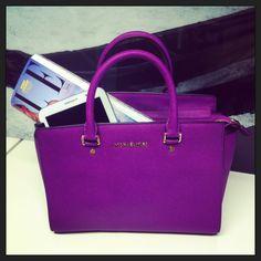 Purple Bag from Michael Kors
