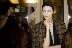 Haider Ackermann Fall 2014 - Backstage - Photographed by Kevin Tachman