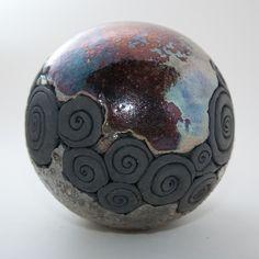 Keramik Kugel Raku-Technik von isi-way.com