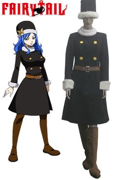 Fairy Tail Rain Woman Juvia Lockser cosplay costume for sale