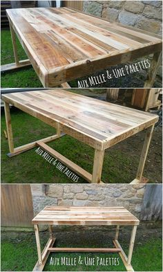 Never opt to choose the glass or plastic material for the table designing. Bring home something that is durable and stay longer lasting. Yes, we are talking about wood pallet! Design the exciting table with the favorable use of the wood pallet into it. Check out this image right now!