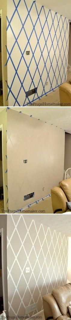 New wallpaper accent wall diy ideas Ideas Diy Wand, Modern Country, Art Mural Floral, Mur Diy, Cozy Living Rooms, New Wallpaper, Diy Wall Art, Cool Walls, Home Decor Trends