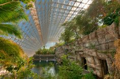 Back in the Biosphere 2 was created in Arizona as a trial Mars colony and to study several of Earth's ecosystems. Visit the site on our virtual tour Space Tourism, Space Travel, Natural Philosophy, Great Basin, Usa Holidays, University Of Arizona, Virtual Tour, Places To Go, Beautiful Places