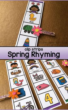 Rhyming Preschool, Rhyming Activities, Pre K Activities, Language Activities, Preschool Activities, Welcome To Preschool, Preschool Fine Motor Skills, Phonological Awareness Activities, Kids Learning