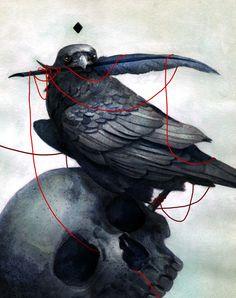 Nevermore by mynameistran.deviantart.com on @deviantART