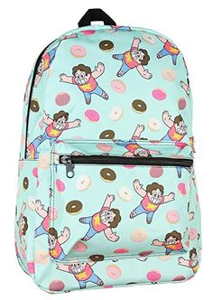 efb5d9ef89e6 Cartoon Network Steven Universe Big Donut All Over Print Backpack Review Steven  Universe Merchandise