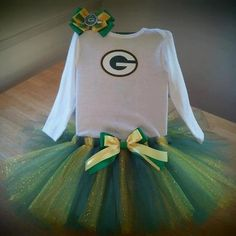 Green Bay Packers Tutu Outfit