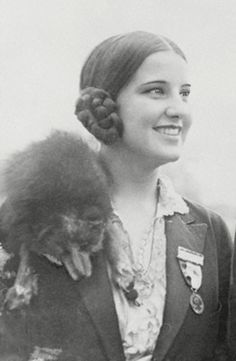 Norma Smallwood Bruce (1908-1966) was a full blood Cherokee Indian from Tulsa, Oklahoma. While a student at Oklahoma State University, she entered the Miss America Pageant in 1926 & was crowned the first Native American to win the title. During the year of her reign, she demanded a fee for appearances, driven by her acute business sense  She reportedly made over $100,000, more than either Babe Ruth or the US President. She later married George H. Bruce, President of the Aladdin Petroleum…