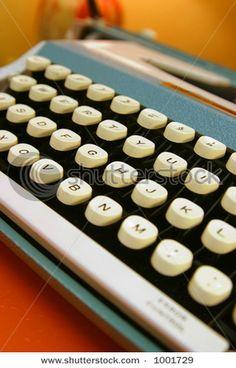 Vintage typewriter 1960s